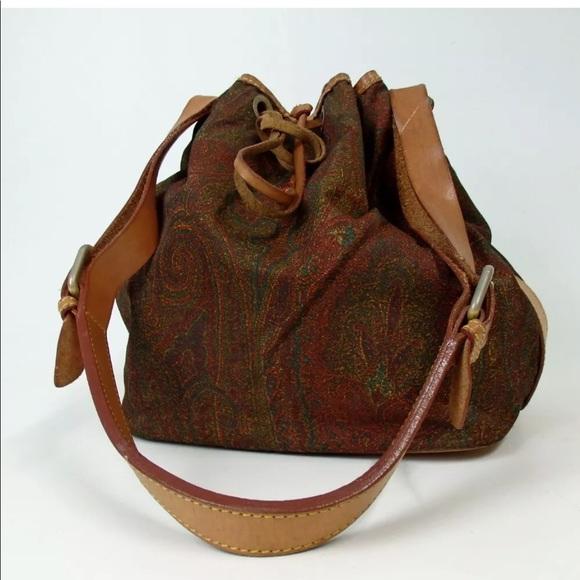 e868a640f Etro Bags   Auth Shoulder Bag Nylonleather   Poshmark